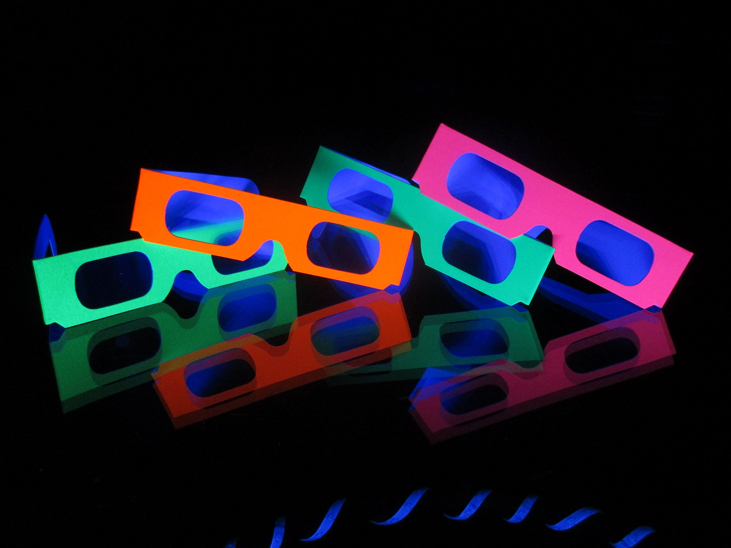 Fireworks Glasses - 200 Pair - For Laser Shows, Raves, Holiday Lights