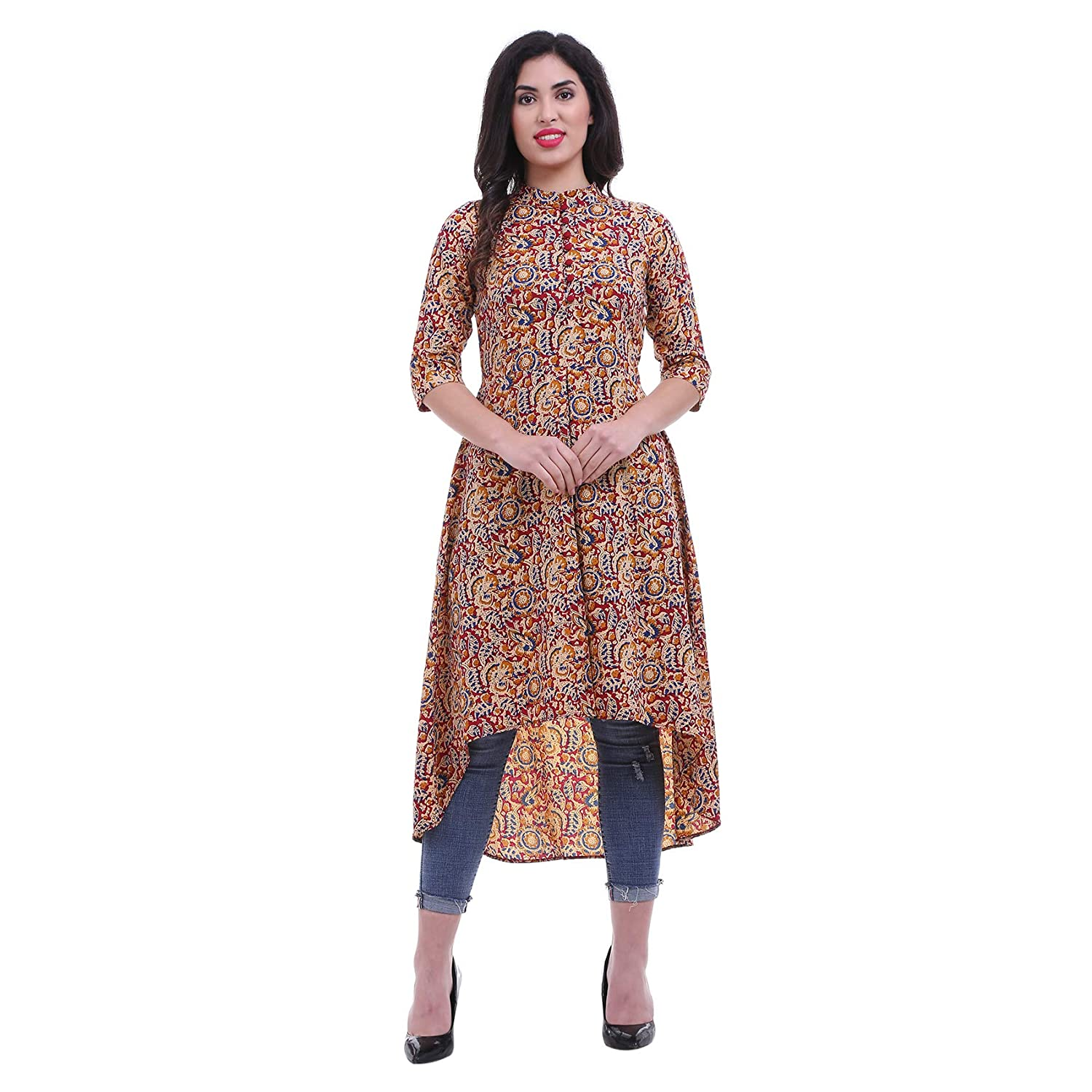Long Kurti with Jeans