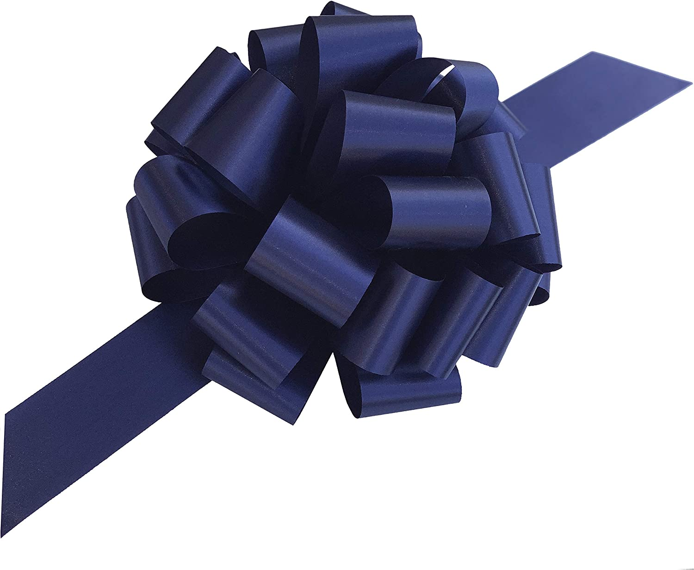 Rifle Paper Company Navy Florals Bow  Floral Bow  Navy Blue Bow  Quinn Bow  Nylon Headband  Blue Bow  Pinwheel Bow