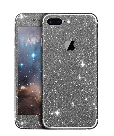 Furivy exquisite bling sticker for iphone 7 plus 5 5 luxury full body sparkle