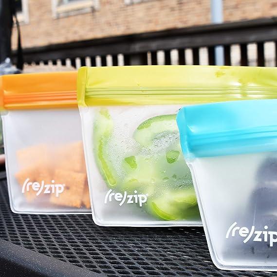 Amazon.com: rezip bolsas herméticas reutilizables que ...