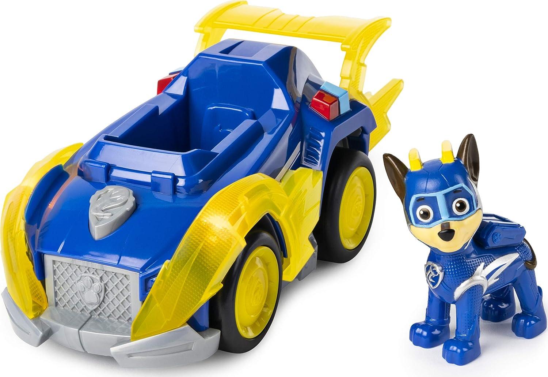PAW Patrol Mighty Pups cargado hasta Rocky Deluxe vehículo nuevo