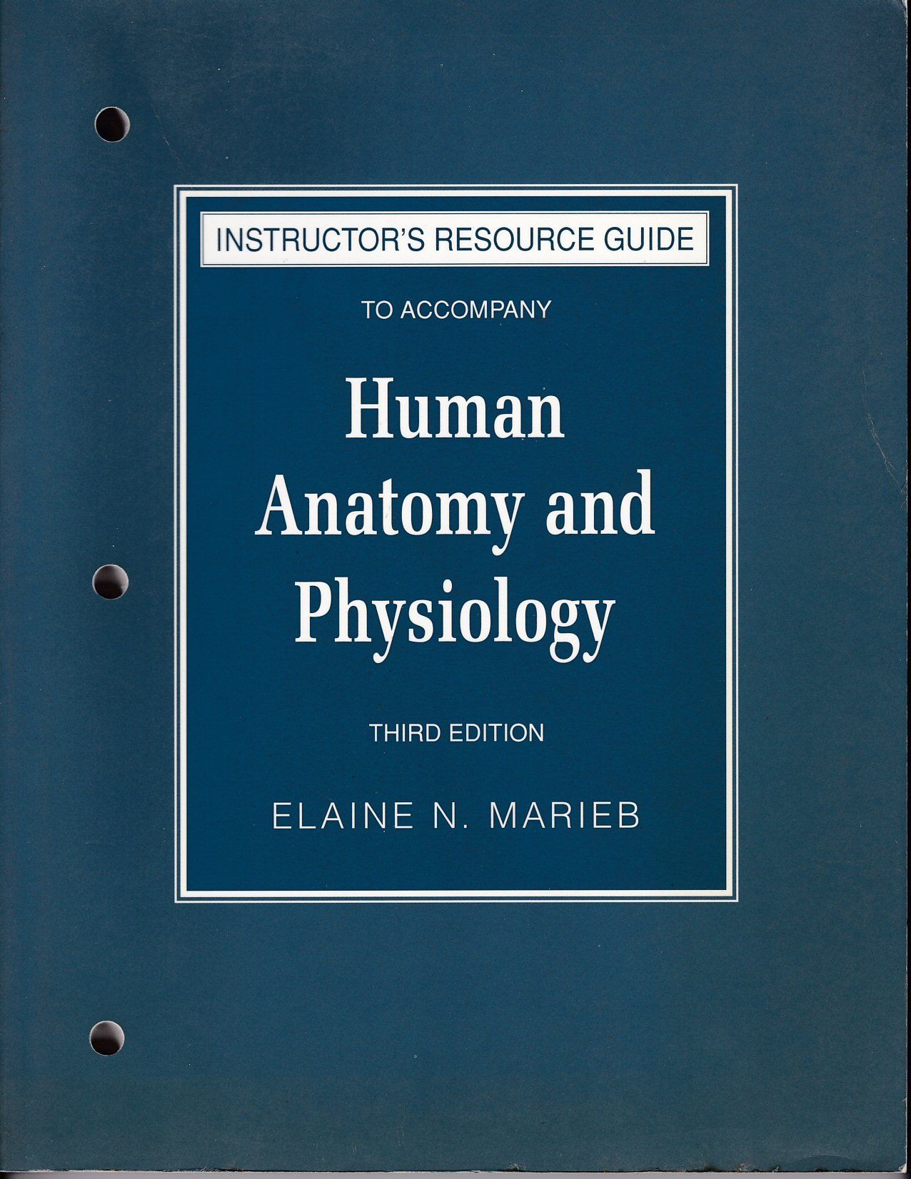 Download Instructors Manual to Human Anatomy and Physiology 3e pdf epub