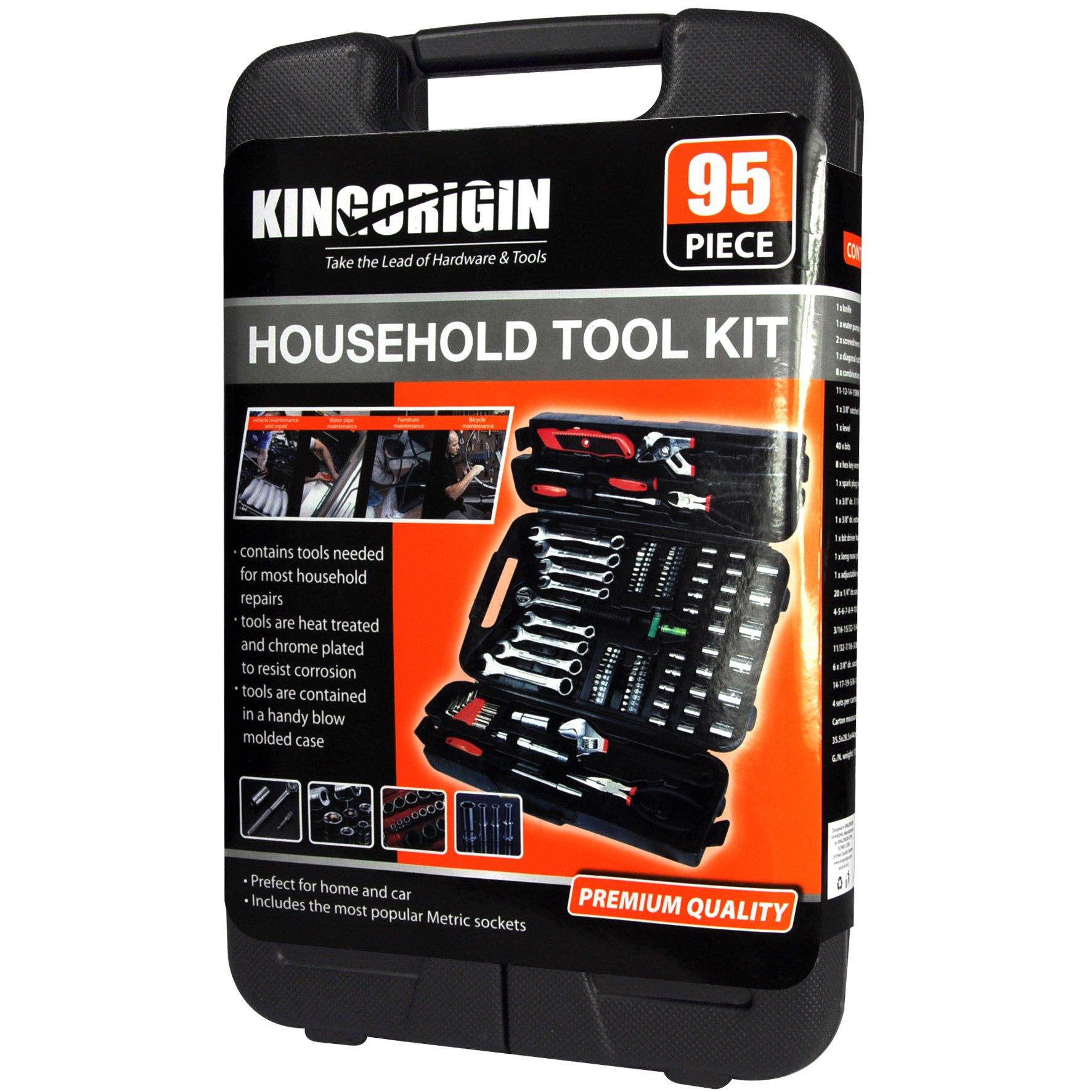Best 95 Piece Home Repair Tool Kits Multi Tools Set