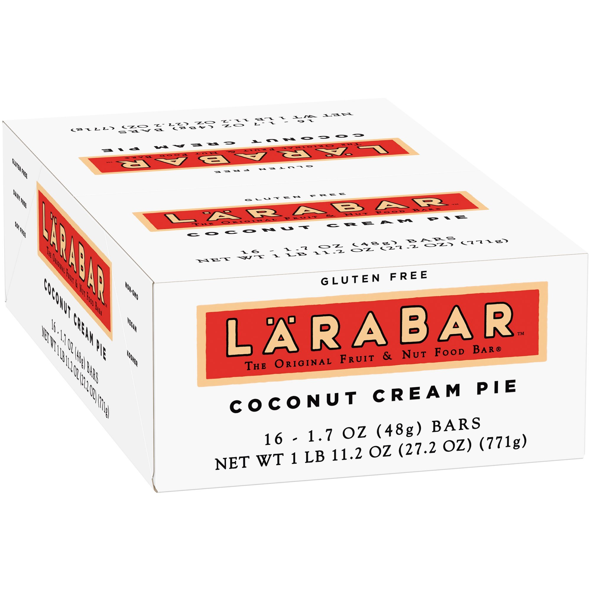 Lärabar Coconut Cream Pie Fruit & Nut Bars 16 ct Box (Pack of 5)