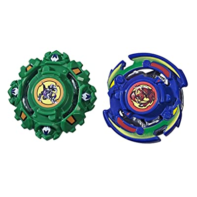Beyblade Burst Evolution Dual Pack Draciel S and Dranzer F: Toys & Games
