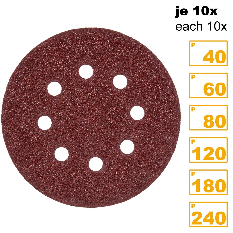 /Set di 3 Piranha 120/g foglio di rete ROS velcro/