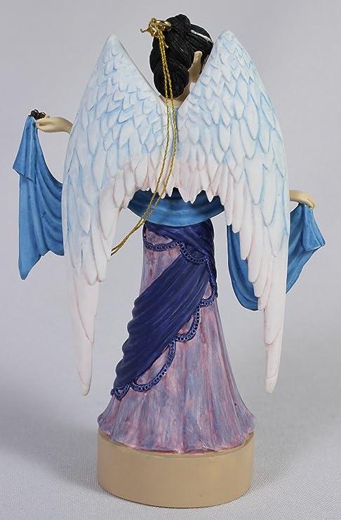 PEACE Fairy Ornament Figurine Jessica Galbreth Enchanted Art Angel Virtues