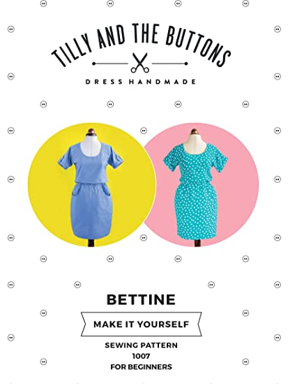 6e25881745 Tilly and the Buttons Bettine Dress Sewing Pattern: Amazon.co.uk: Kitchen &  Home