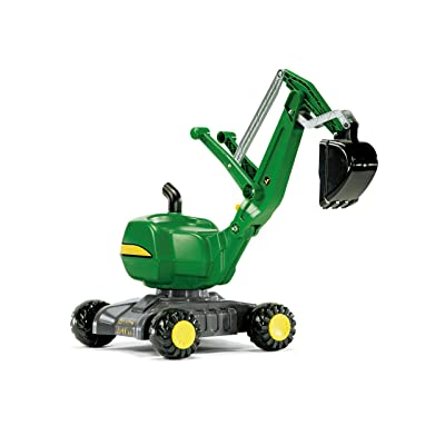rolly toys John Deere Ride-On: 360-Degree Excavator Shovel/Digger, Youth Ages 3+: Toys & Games