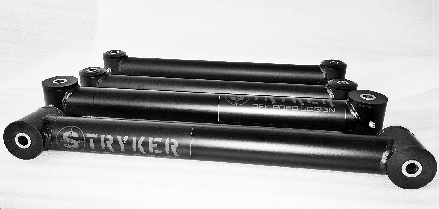Stryker Off Road Design Tubular Steel Control Arms for 2-3 Lift Height 10-13 Dodge Ram 2500//3500 4WD 1111013230
