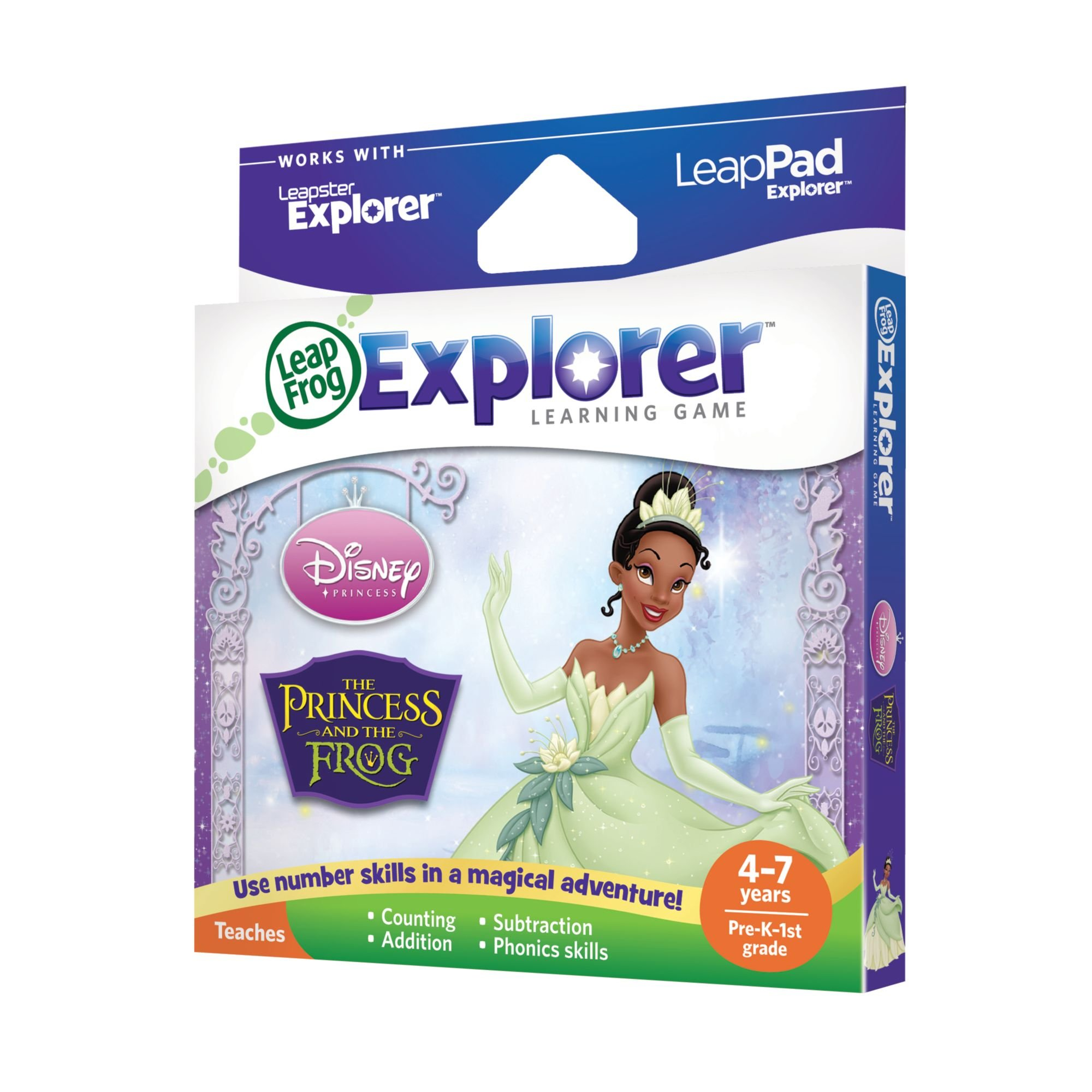 LeapFrog Explorer Disney The Princess and The Frog Learning Game by LeapFrog (Image #2)