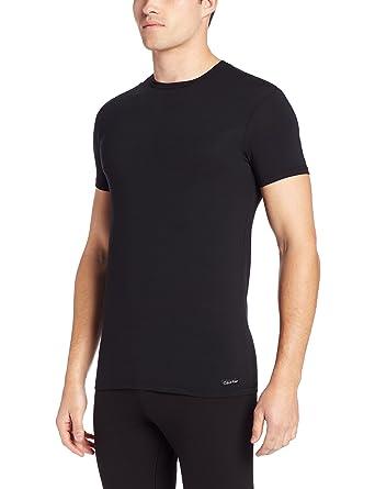 4560c9a81521 Calvin Klein Men's Body Modal Short Sleeve Crew Neck T-Shirt at Amazon  Men's Clothing store: