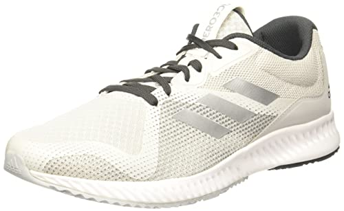 super popular 1ac25 339e4 Adidas Mens Aerobounce Racer M GreoneSilvmtUtiblk Running Shoes - 10 UK
