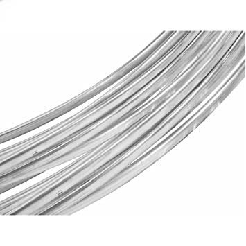 Sterling Silber Draht Oval Silber 925 Draht 3 mm x 2,2 mm Draht für ...
