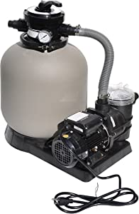 "Swimline Pool Sand Filter 0.5 hp Combo, 14"""