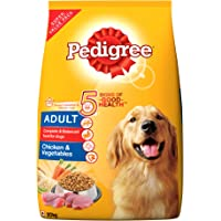 Pedigree Dry Dog Food for Adult Dogs , Chicken and Vegetables, 20kg