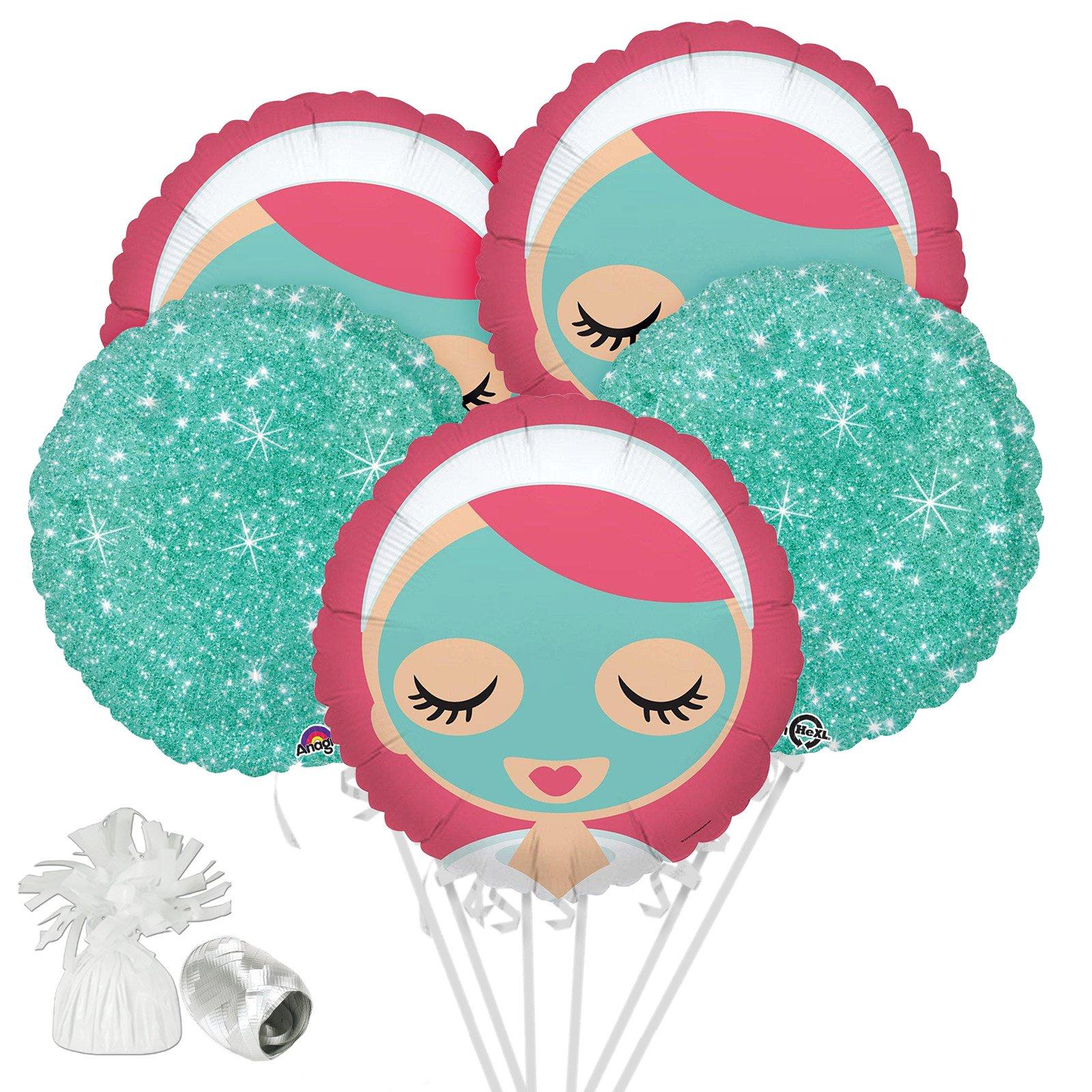Costume SuperCenter Little Spa Balloon Bouquet Kit