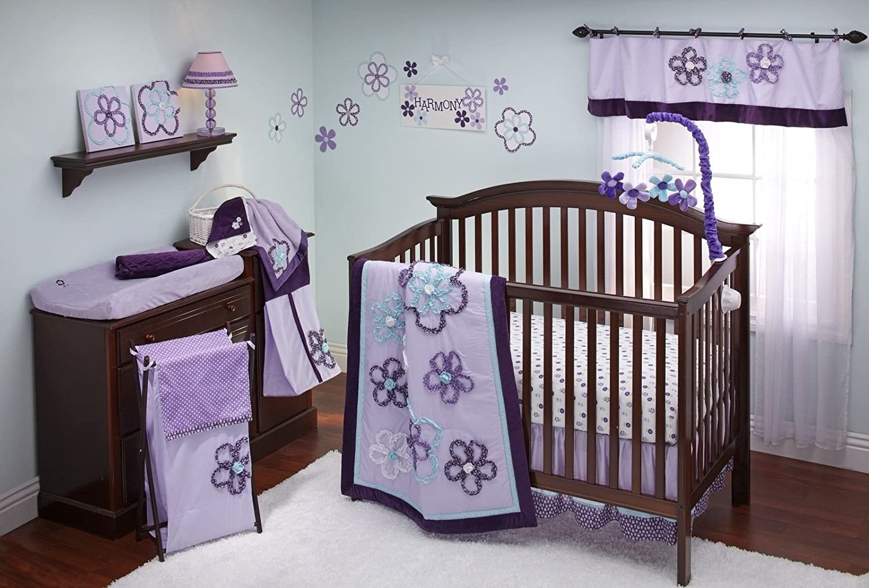 NoJo Harmony 9 Piece Crib Bedding Set by NoJo   B009TBAKE2
