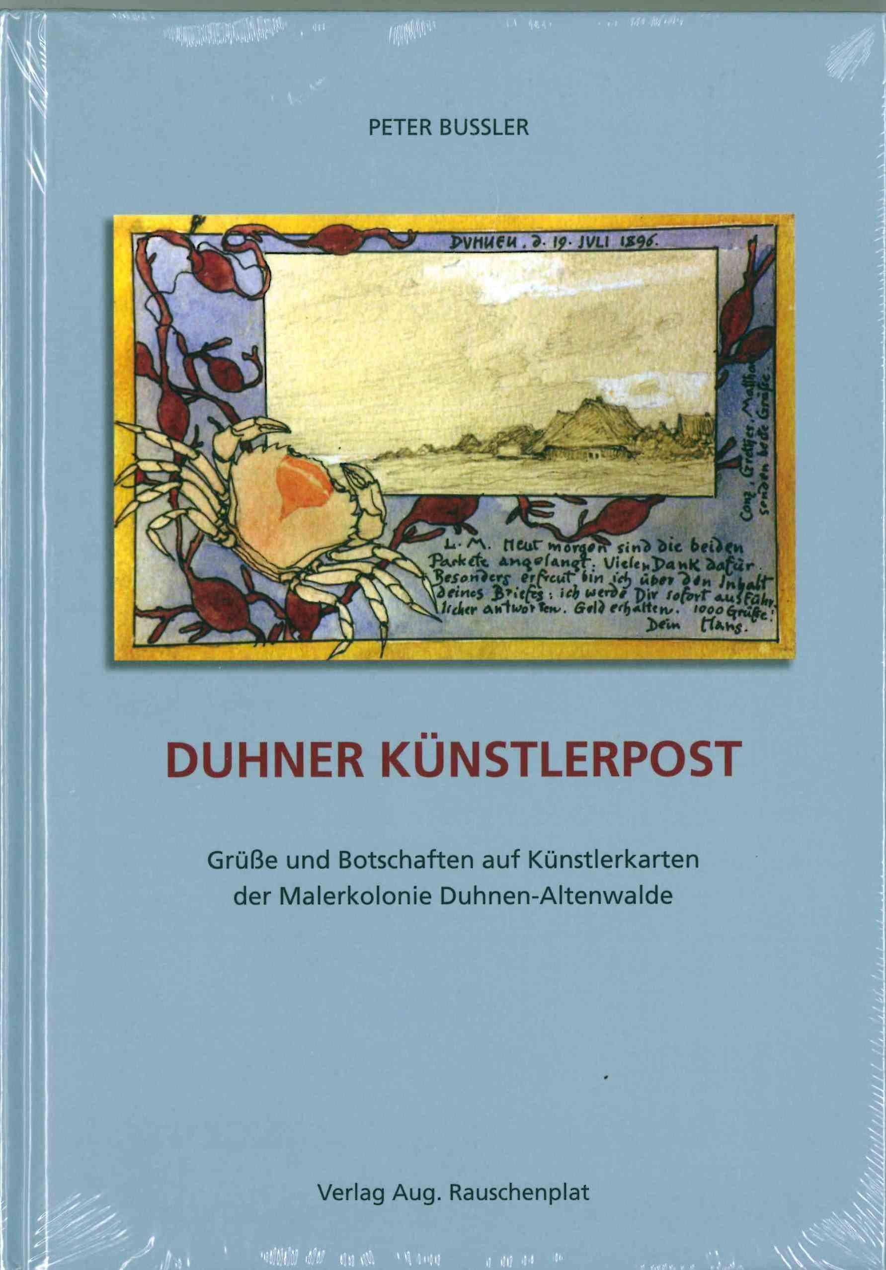 Duhner Künstlerpost Grüße und Botschaften auf Künstlerkarten der ...