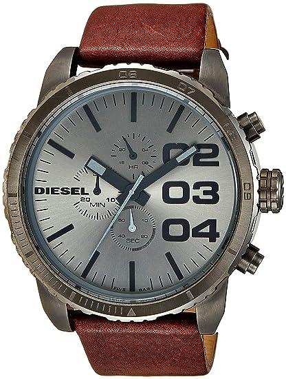 Diesel DZ4210 - Reloj analógico de cuarzo para hombre con correa de piel, color marrón: Diesel: Amazon.es: Relojes