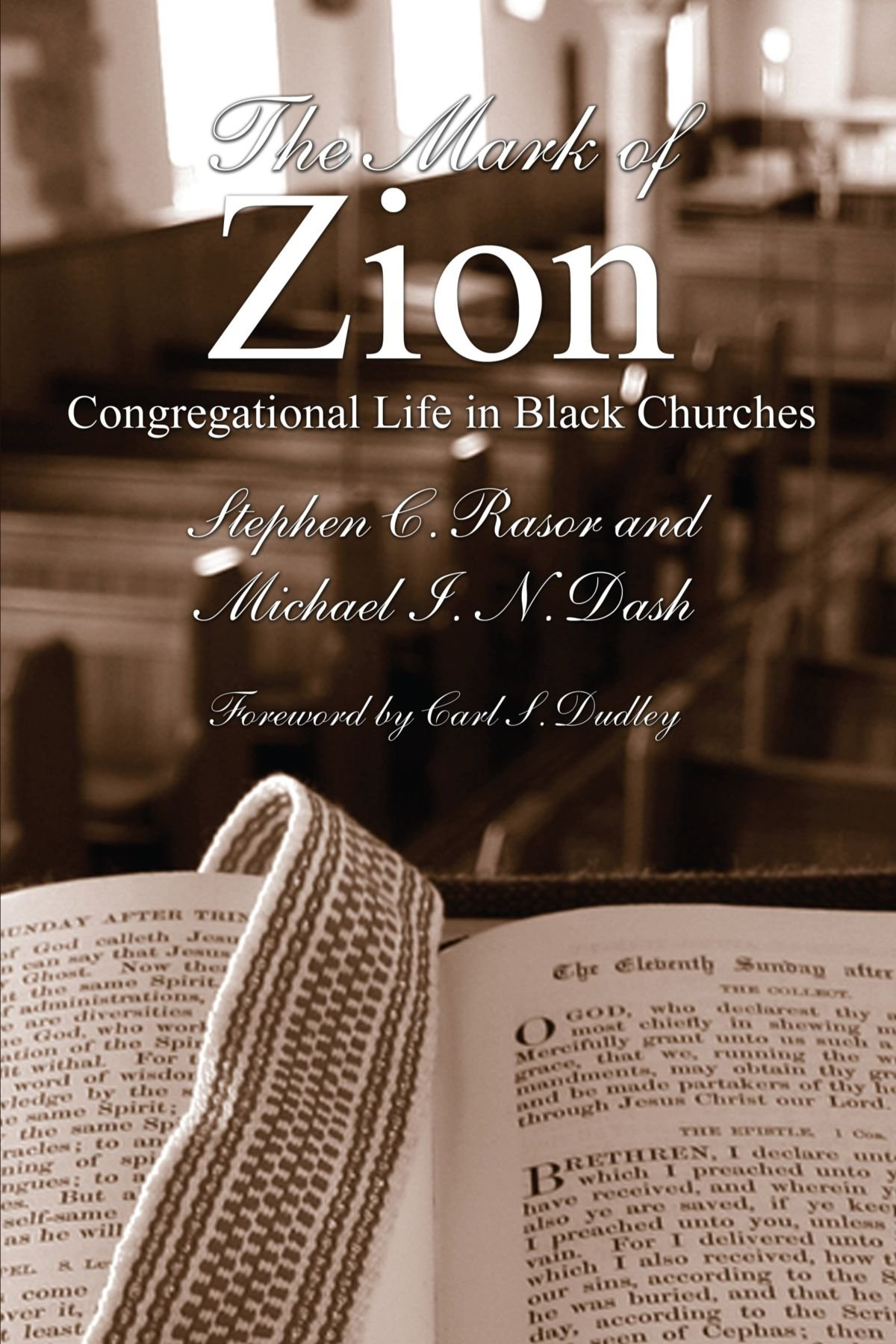 The Mark of Zion: Congregational Life in Black Churches ebook