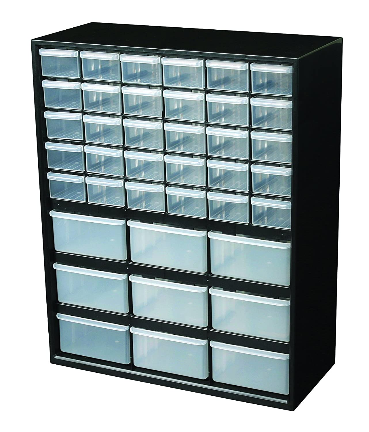 Amazon.com: Flambeau 6576ND Parts Storage Drawer, Hardware And Craft Cabinet  With 39 Drawers: Home Improvement