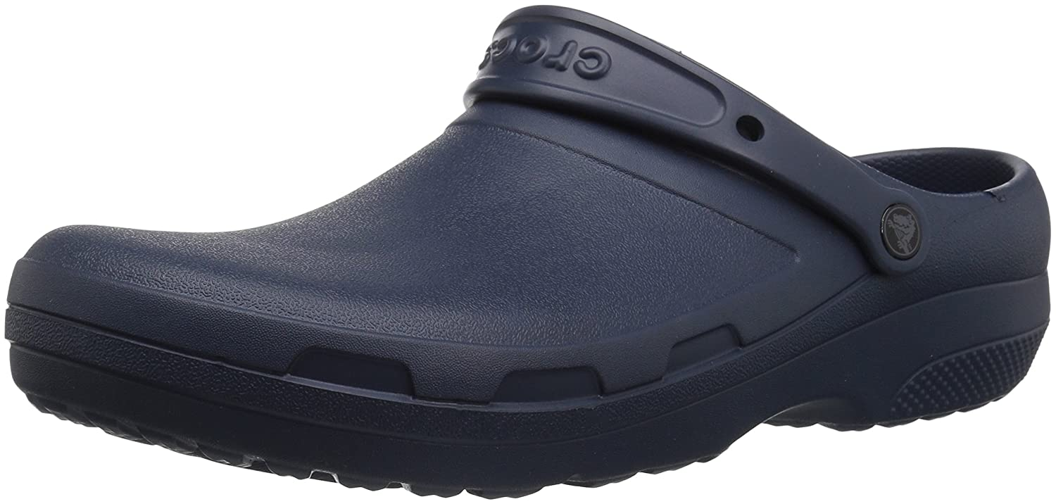 Crocs Men's and Women's Specialist II Clog Comfortable Work Shoe, Great Nursing or Chef Shoe 204590