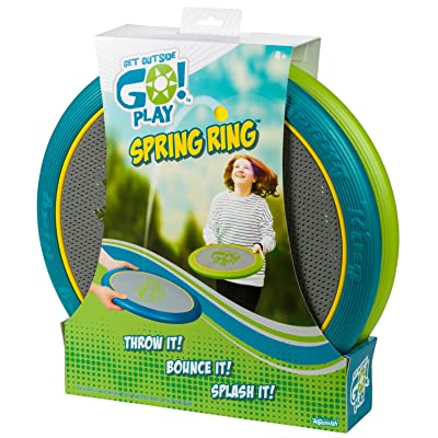 Toysmith Get Outside GO! Spring Ring: Toys & Games