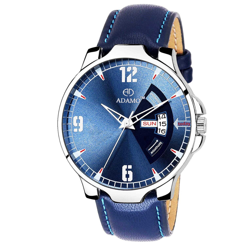 ADAMO Legacy (Day & Date) Men's Wrist Watch A827SB05