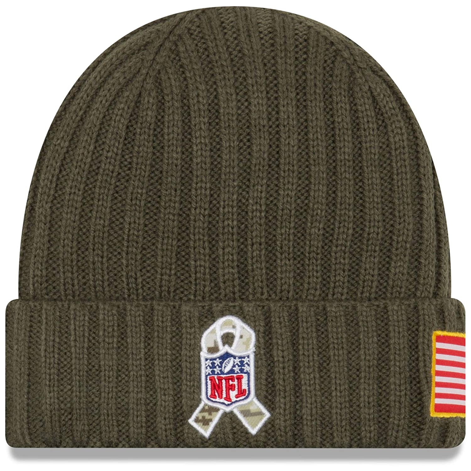 f53348c97 New Era Men's Men's Packers 2017 Salute to Service Cuffed Knit Hat
