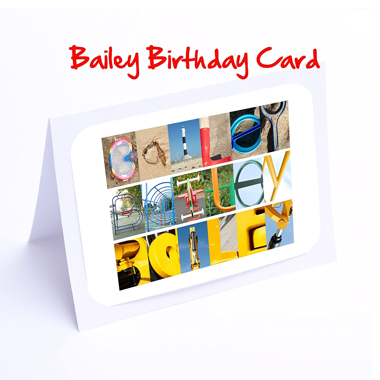 Boys 7x5 Photo Greeting Card Abe With Free Delivery Personalised Cards A K Names Blank