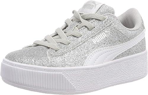 PUMA Vikky Platform Glitz AC PS, Sneakers Basses Fille