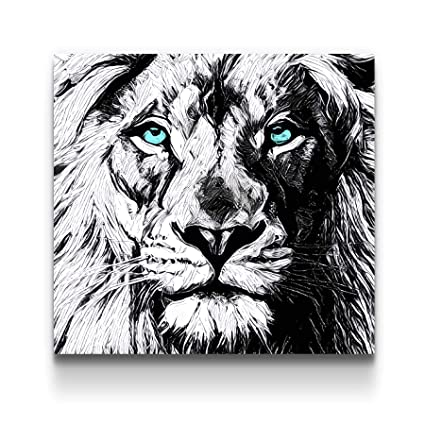 Amazon Com Startonight Canvas Wall Art Black And White Abstract