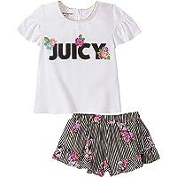 JUICY COUTURE girls 80I32020-99 Shorts Set