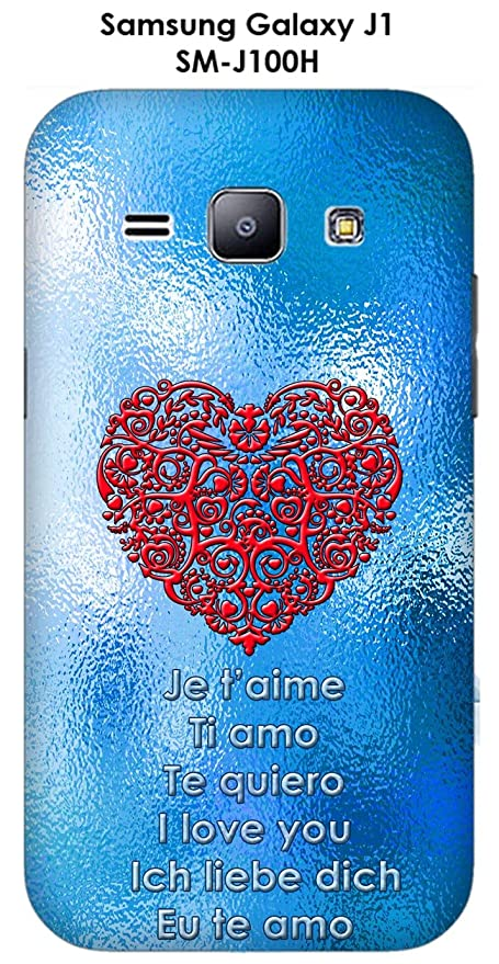Onozo Carcasa Samsung Galaxy J1 - SM-J100H Fondo Azul ...
