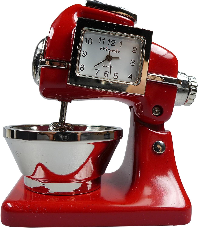 Robot de Cocina CA 8,5 x 6 x 4,5 cm – Vintage Reloj – coleccionistas Reloj con Caja de Regalo de Calidad: Amazon.es: Relojes