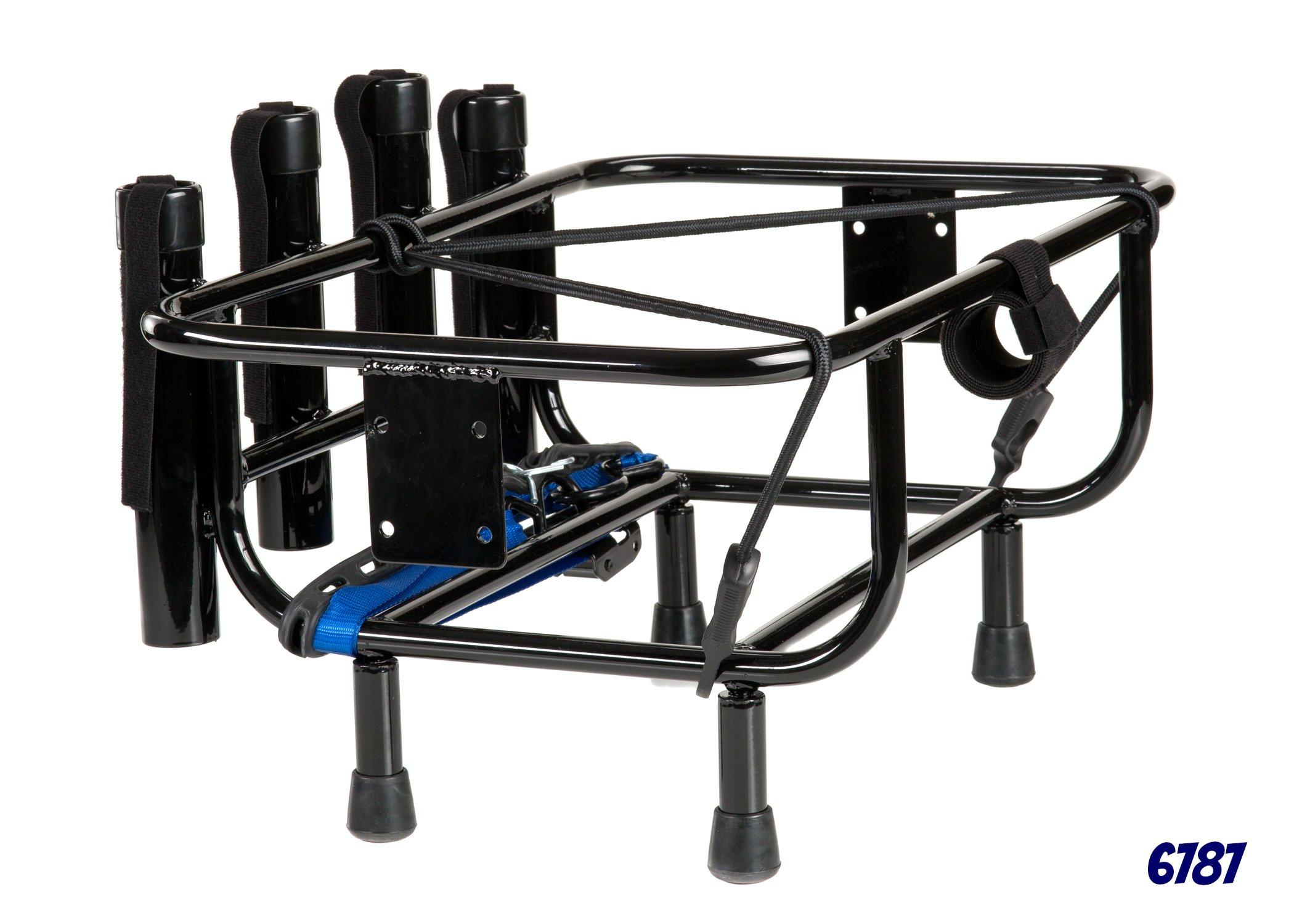 Jetski Fishing Rack with 4 Rod Holders