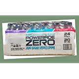 Powerade Zero Sports Drink Variety, 20 Ounce (24 Bottles)