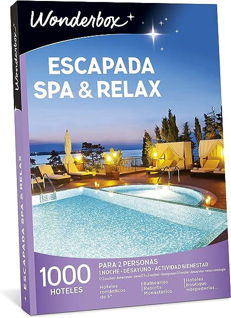 WONDERBOX Caja Regalo -ESCAPADA SPA & Relax- 1.000 hoteles para ...