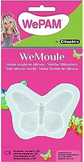 WePAM - PF01MC49 - WeMoule - Molde de silicona para moldear una mariposa gigante con porcelana
