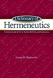 Dictionary of Hermeneutics