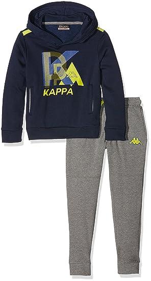 Kappa Basilio TKS - Chándal para niño, Basilio Tks, Navy Blue/Mid ...