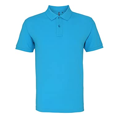 Asquith & Fox Asquith and Fox Mens Polo, Azul (Turquoise 000 ...