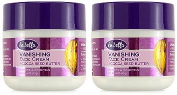 La Bella Vanishing Cocoa Seed Butter 4 oz Indigo Wild, Zum Face Argan Oil Facial Serum, 0.5 fl oz