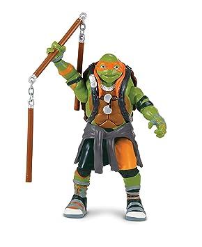 Las Tortugas Ninja 2 - Hablar Deluxe Figura - Michelangelo ...