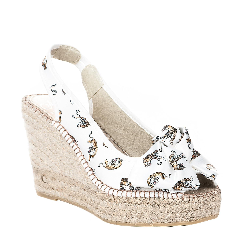 AEDO Alpargata Mujer, Beige (Beige), 40 EU: Amazon.es: Zapatos y complementos