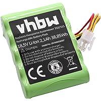 se requieren 2 bater/ías 430X 330x 420 450X vhbw 2X Li-Ion bater/ía 6800mAh 18V para cortac/ésped Robot Husqvarna Automower 320 430