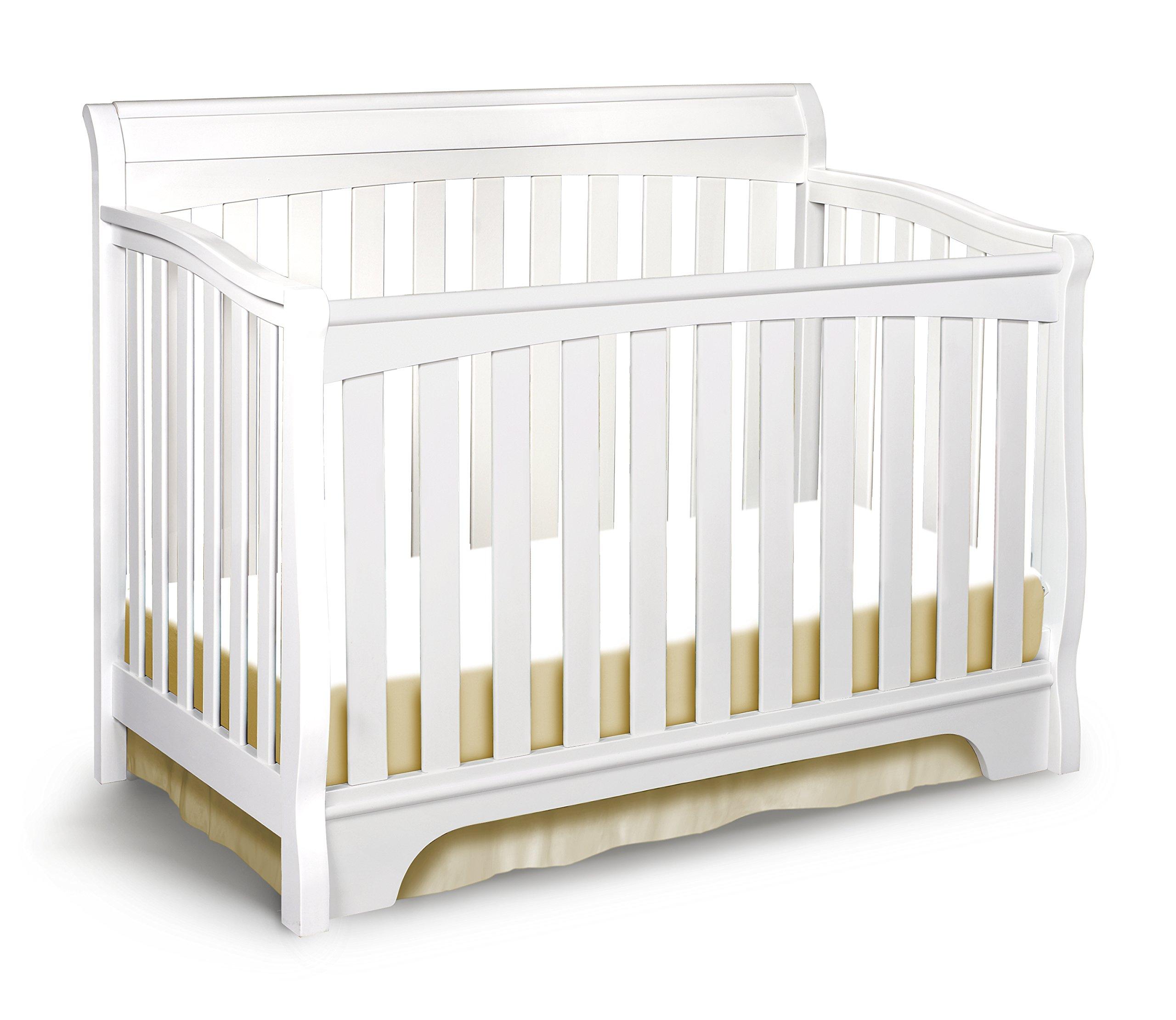 Delta Children Eclipse 4-in-1 Crib,White