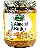 New World Foods Almond Butter, Crunchy Organic 500g
